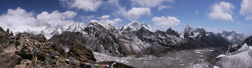 Top of the World in Himalayas, Nepal