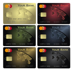 Credit card Colors
