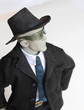 Confident Young Business Manikin Man