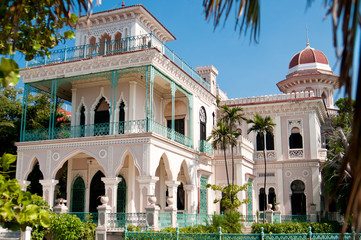 Beautiful Palace In Cienfuegos