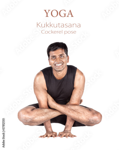 Yoga Kukkutasana cockerel pose