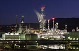 Oil refinery (Vizcaya,Spain) poster