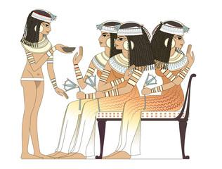 acient egypt woman