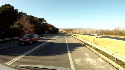 Carretera y paisaje