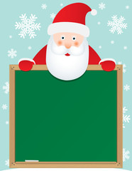santa claus banner background, for christmas holidays