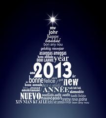 2013, sapin polyglotte