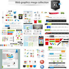 Web graphics mega collection - startup graphics