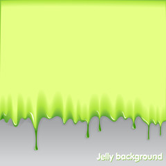 jelly background. Ready for the text
