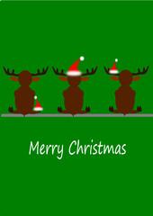 Karte Merry xmas