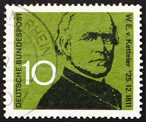 Postage stamp Germany 1961 Wilhelm Emanuel von Ketteler