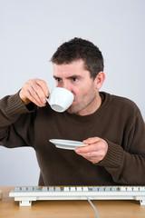 coffee-break in the office