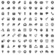 100 Black Website Icons