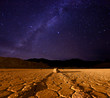 Beautiful Milky Way Formation in Death Valley California