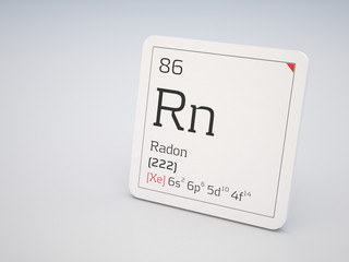 Radon - element of the periodic table