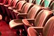 brown theater seats