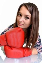 boxeur isolé
