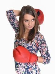 boxeur femme