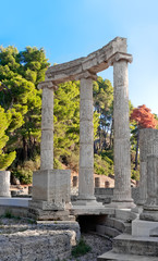 Archaeological Site of Olympia, Greece.