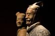 Leinwandbild Motiv famous Chinese terracotta army