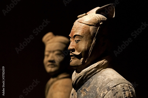 Papiers peints Ruine famous Chinese terracotta army