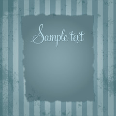 Template frame design for various purposes, old retro style