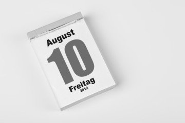 10 August
