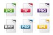 Dateiendungen Dokumentenymbole - Sammlung 03
