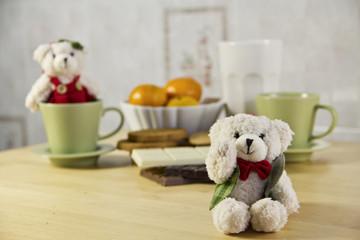 bears at breakfast