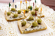 Sandwiches (Tuna and Olives)