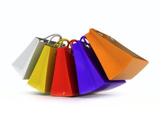 paper color bags