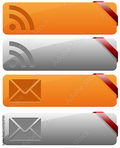 RSS Mail buttons
