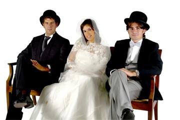 sposa sposo amante persone