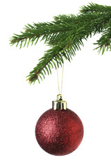 Christmas ornament on the tree