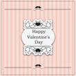 Valentine's Day vintage design - eps10