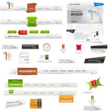 Fototapety Web graphic collection