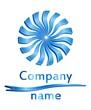 3D circle company logo