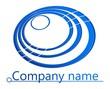 3D circles company logo