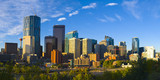 Fototapety The City of Calgary Skyline at Sunrise