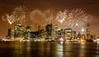 Fototapete Nacht - Manhattan - Stadt allgemein