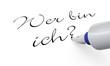 Stift Konzept - Wer bin ich?