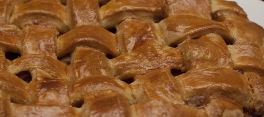 Western Food/Gourmet: Close-up of a pie