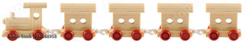 petit train 4 wagons