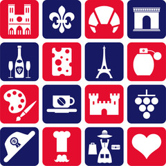 France pictograms