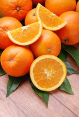 arancia tagliata - due