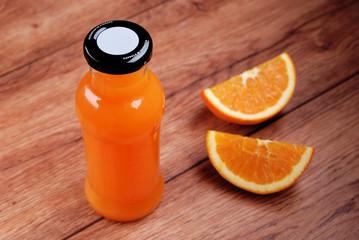 succo di arancia in bottiglia - uno