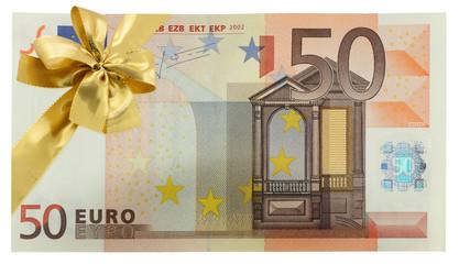 billet cadeau 50 euros