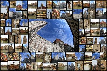 firenze collage