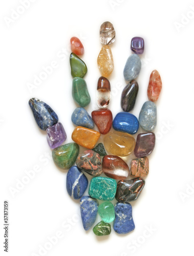 Symbolic Crystal Healing Hand © Nikki Zalewski