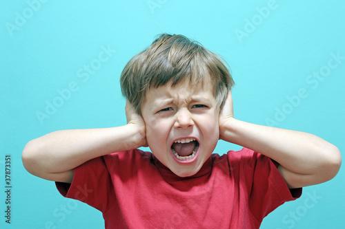 Leinwanddruck Bild Schreiendes Kind