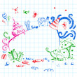 Birthday Doodle Style